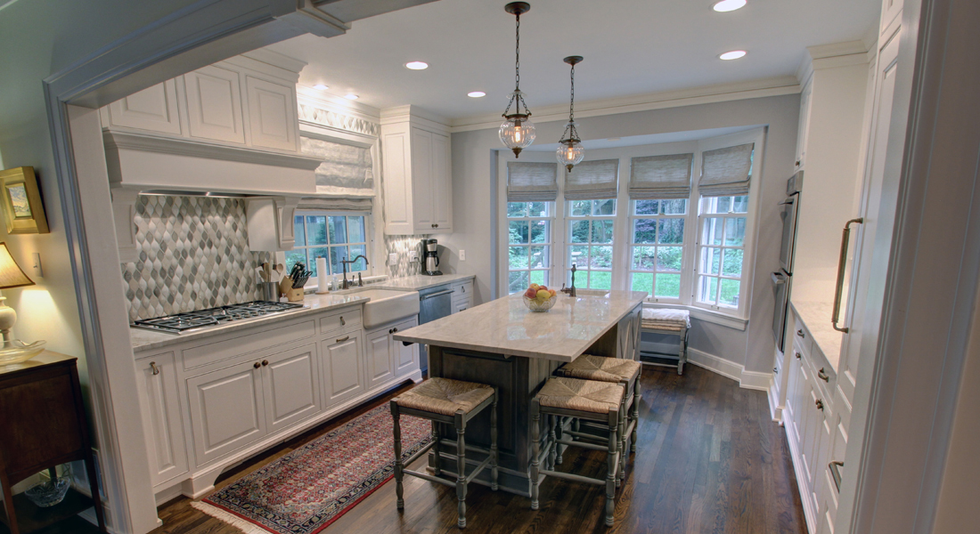 colonial revival kitchen remodel