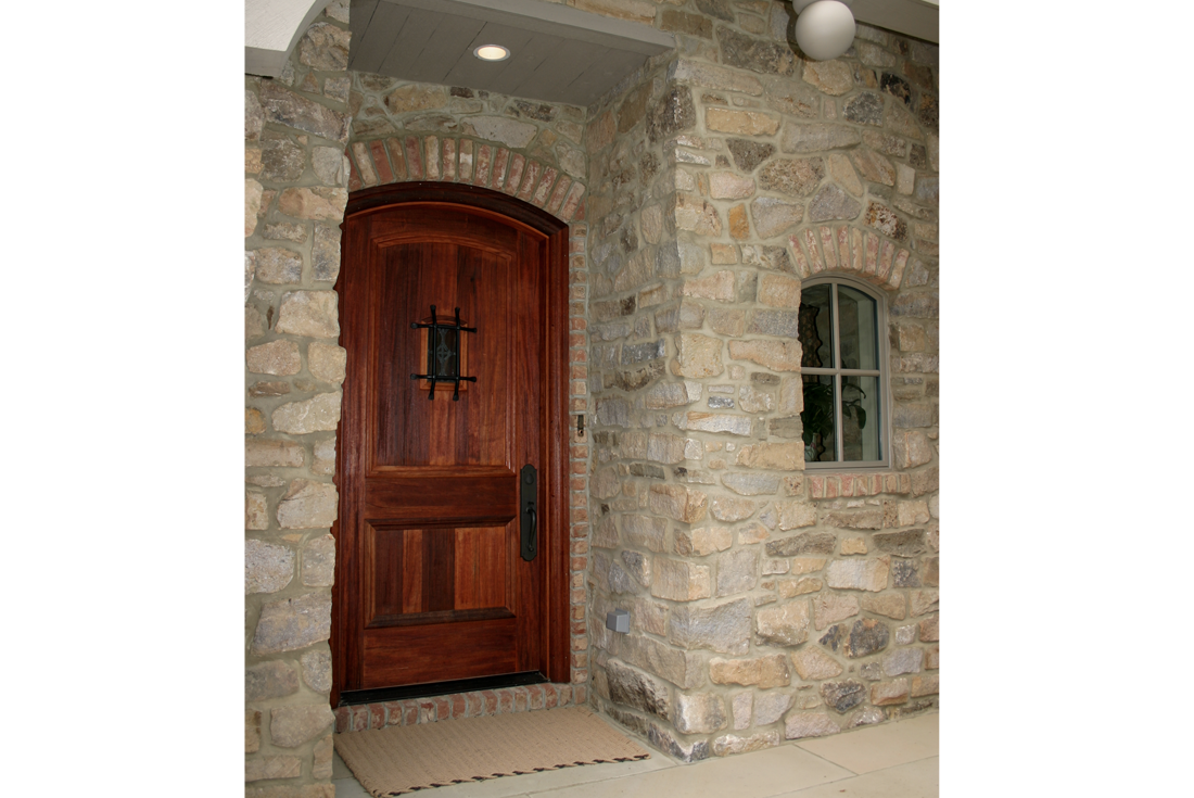 french country entry