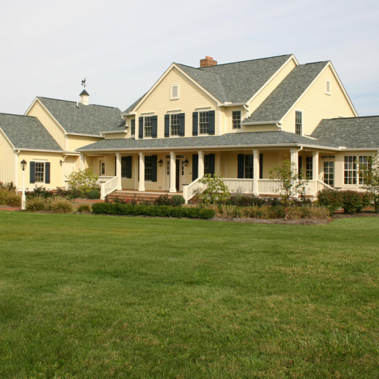 farmhouse custom home