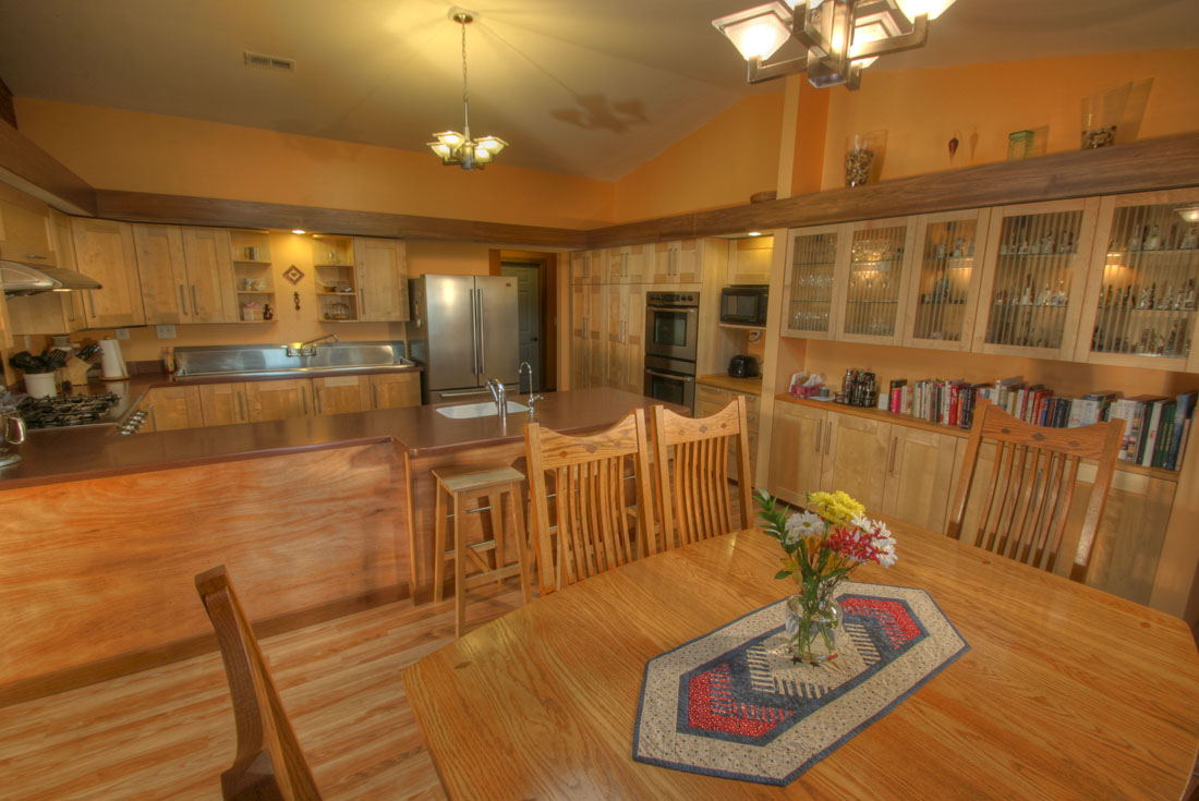 prairie ranch kitchen