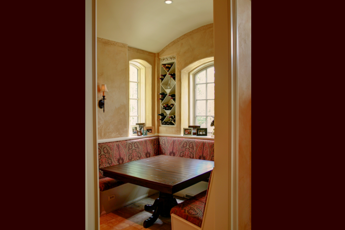 french country wine room