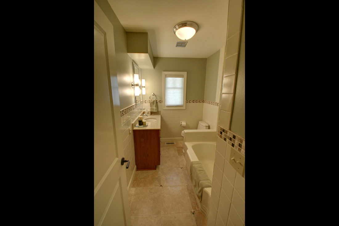 craftsman ranch bath remodel