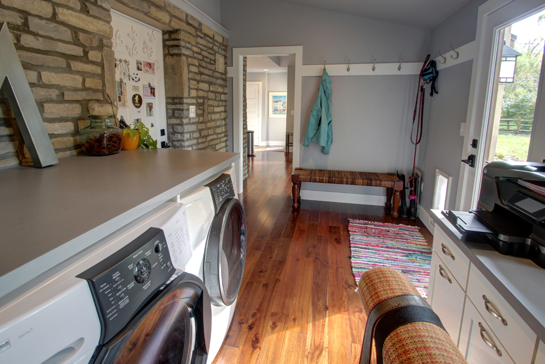 ranch remodel laundry room