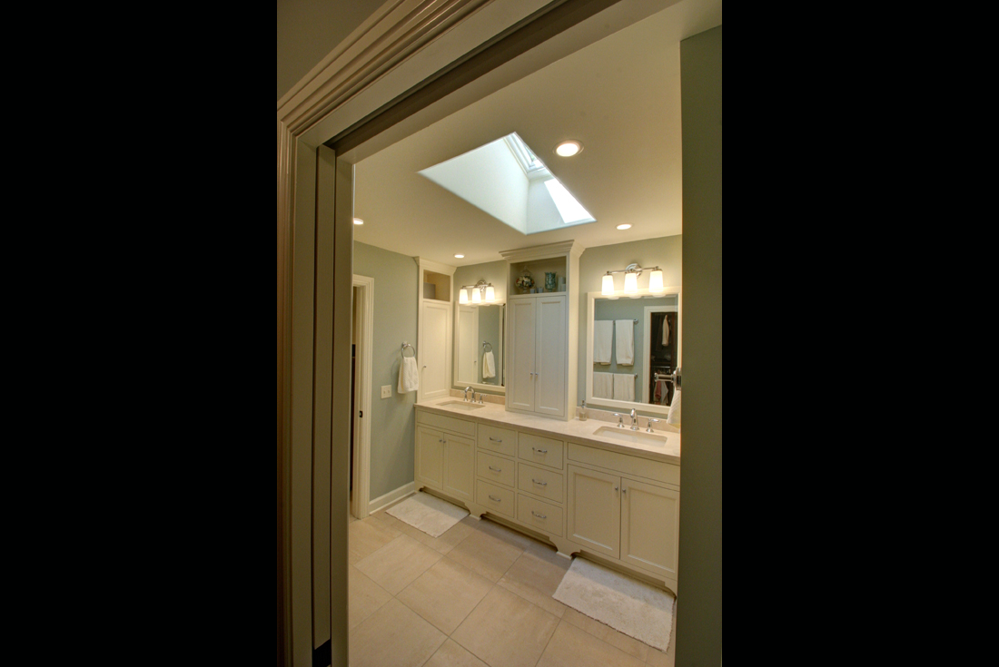 craftsman ranch master bath remodel