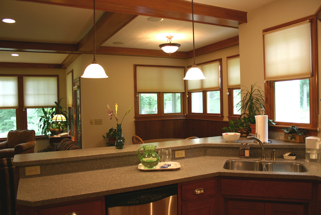 craftsman cottage kitchen