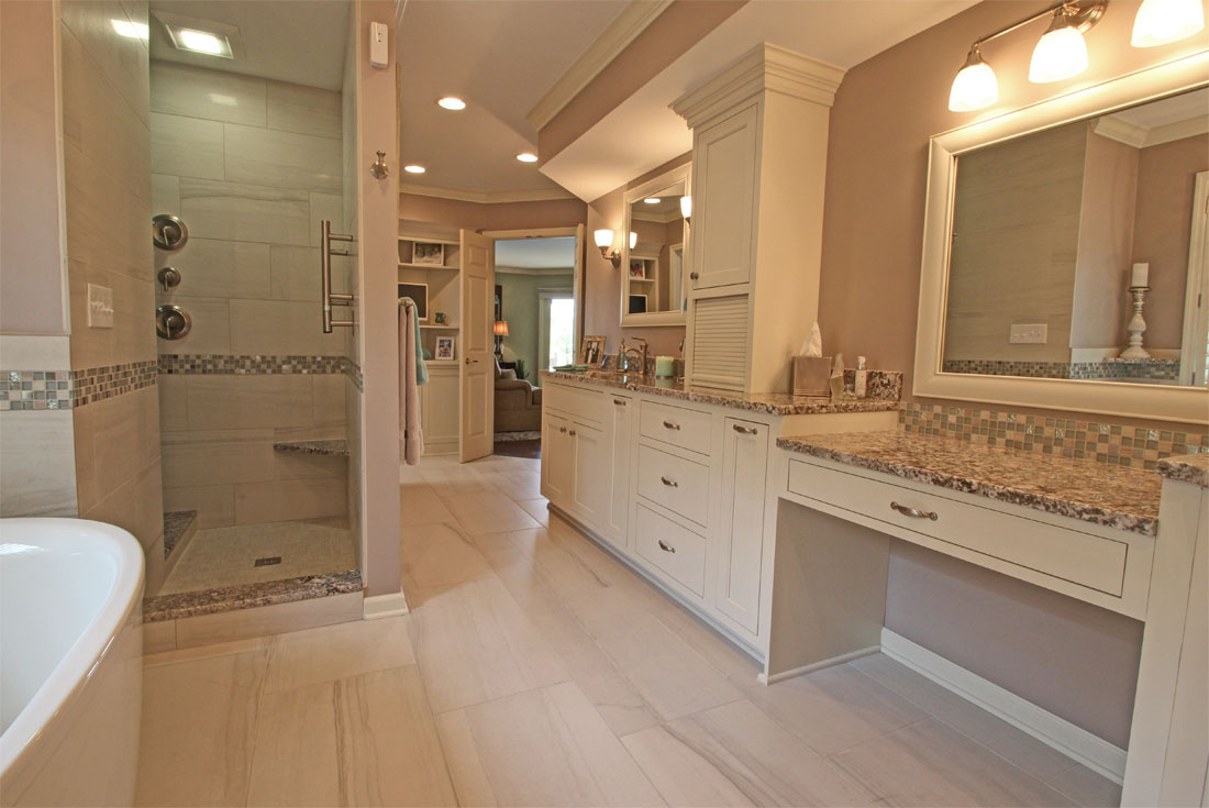 luxury master bath remodel